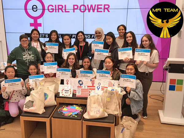 MI9 Team gives back at eGirl Power Youth Leadership Summit on Make a Difference Day